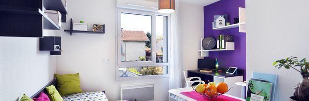 Location résidence étudiante Résidence Lyon 8 à Lyon - Photo 2