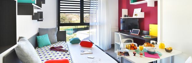 Location résidence étudiante Résidence Aix Campus 1 à Aix-en-Provence - Photo 2