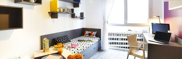 Student residence rental Résidence Caen Campus 1 à Caen - Photo 2