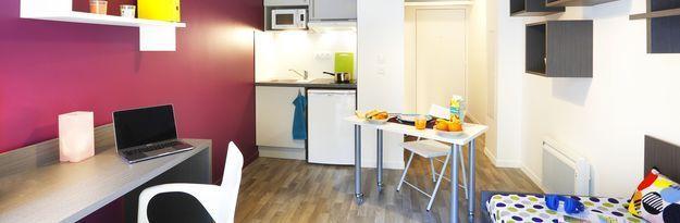 Student residence rental Résidence Caen Campus 1 à Caen - Photo 1