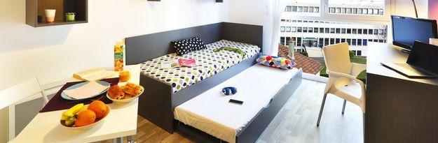 Student residence rental Résidence Caen Campus 1 à Caen - Photo 3
