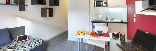 Student residence rental Résidence Clermont Centre à Clermont-Ferrand - Photo 6