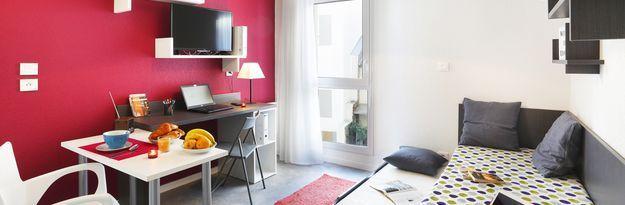 Student residence rental Résidence Clermont Centre à Clermont-Ferrand - Photo 4