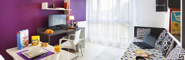Student residence rental Résidence Créteil Campus à Créteil - Photo 2