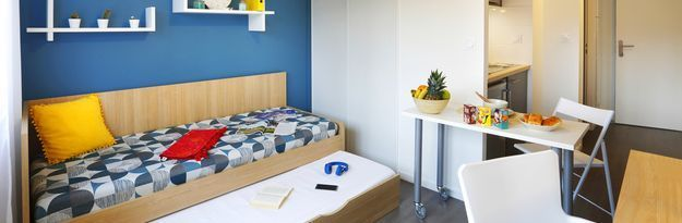Student residence rental Résidence Rennes Villejean à Rennes - Photo 4