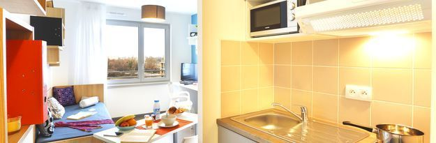 Student residence rental Résidence Strasbourg Elypseo à Strasbourg - Photo 4