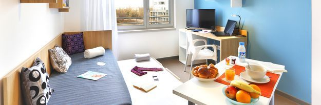 Student residence rental Résidence Strasbourg Elypseo à Strasbourg - Photo 2