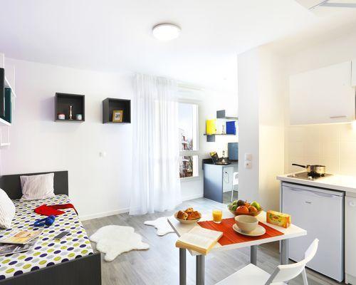 Student residence rental Créteil Campus 2 à Créteil