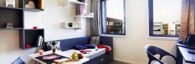 Location résidence étudiante Résidence Eurasanté à Loos Lez Lille - Photo 1