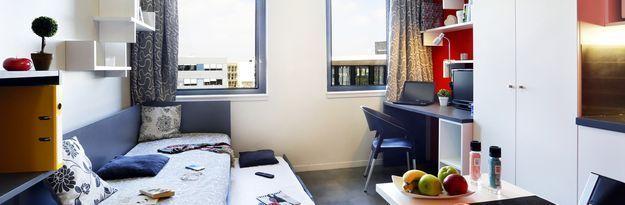 Student residence rental Résidence Eurasanté à Loos Lez Lille - Photo 11