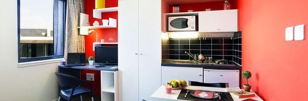 Student residence rental Résidence Eurasanté à Loos Lez Lille - Photo 3