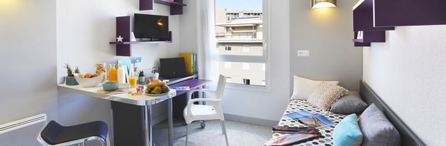 Student residence rental Résidence Marseille Timone à Marseille - Photo 1