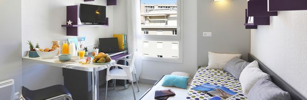 Student residence rental Résidence Marseille Timone à Marseille - Photo 3