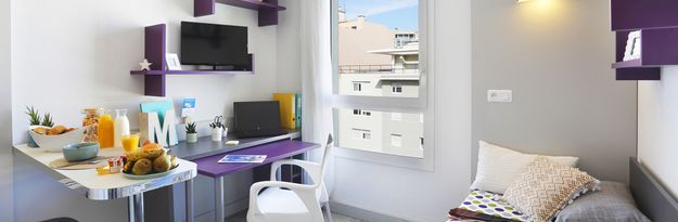 Student residence rental Résidence Marseille Timone à Marseille - Photo 2