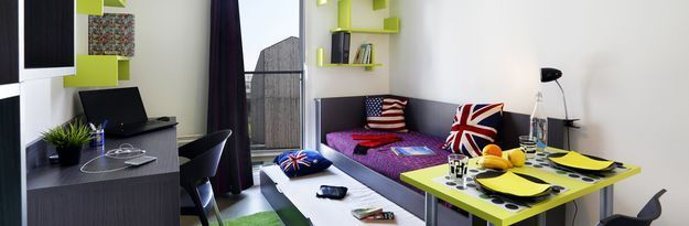 Location résidence étudiante Résidence Montécristo à Nantes - Photo 4