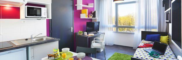 Student residence rental Résidence Villeneuve Métropole à Villeneuve d'Ascq - Photo 3