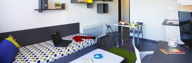 Student residence rental Résidence Villeneuve Métropole à Villeneuve d'Ascq - Photo 2