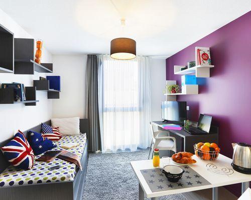 Student residence rental Montpellier Carré du Roi à Montpellier