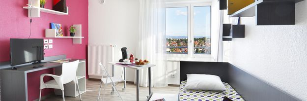 Location résidence étudiante Résidence Strasbourg Meinau à Strasbourg - Photo 1