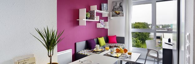 Student residence rental Résidence Stanford à Caen - Photo 4