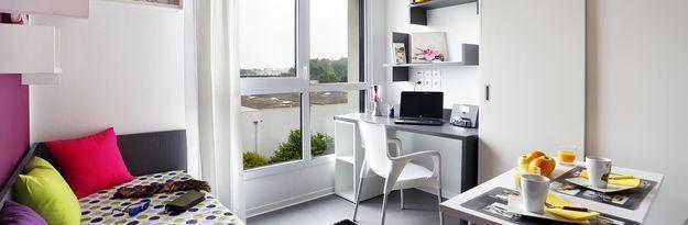 Student residence rental Résidence Stanford à Caen - Photo 3