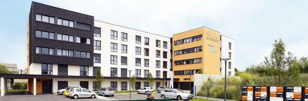 Student residence rental Résidence Stanford à Caen - Photo 11