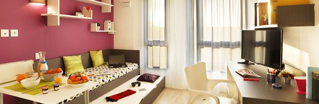 Student residence rental Résidence Roubaix Euroteleport à Roubaix - Photo 1