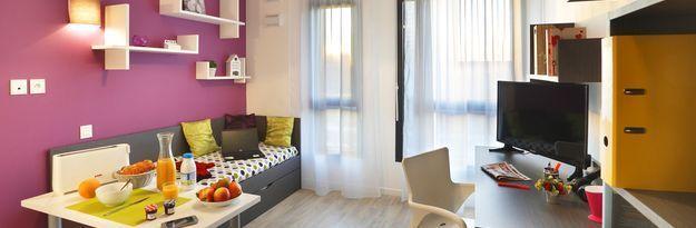 Student residence rental Résidence Roubaix Euroteleport à Roubaix - Photo 3