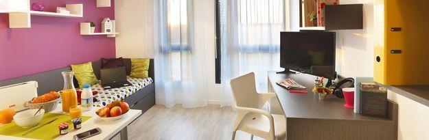 Student residence rental Résidence Roubaix Euroteleport à Roubaix - Photo 10