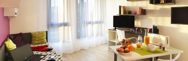 Student residence rental Résidence Roubaix Euroteleport à Roubaix - Photo 7