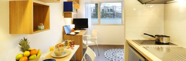 Student residence rental Résidence Villeurbanne Villenciel à Villeurbanne  - Photo 1