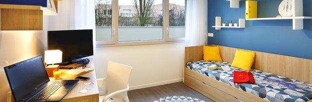 Student residence rental Résidence Villeurbanne Villenciel à Villeurbanne  - Photo 2