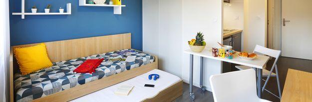 Student residence rental Résidence Villeurbanne Villenciel à Villeurbanne  - Photo 4