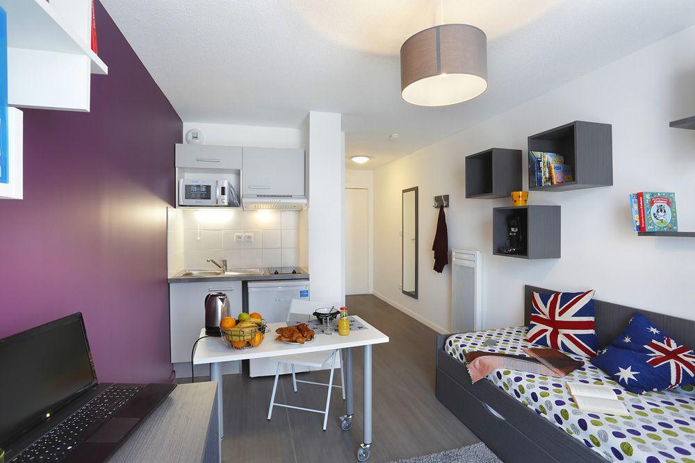 Location résidence étudiante Montpellier Mondial 98 à Montpellier