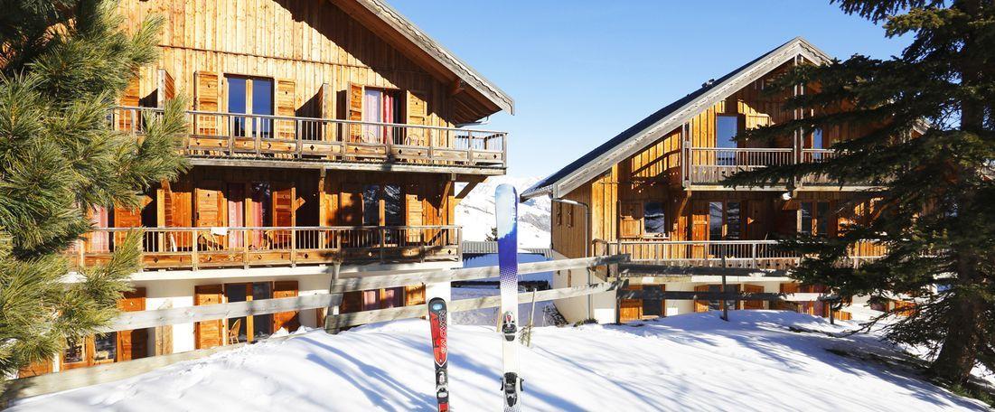 Location Residence A La Toussuire En Hiver Les Chalets Des Cimes
